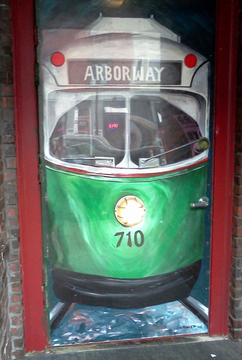 green line galway door